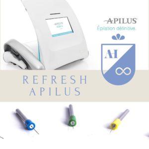 Epilation électrique Haute fréquence Apilus